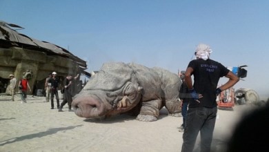 Photo of Over 40 pictures from the Abu Dhabi Star Wars: Episode VII set!