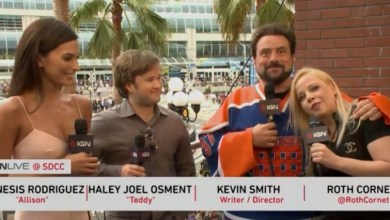 Photo of Kevin Smith talks about his Star Wars: Episode VII set visit with IGN