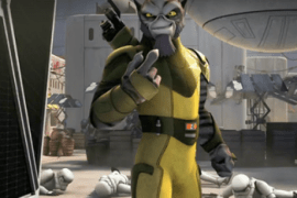 zeb - Star Wars Rebels: Zeb Orrelios Short Preview