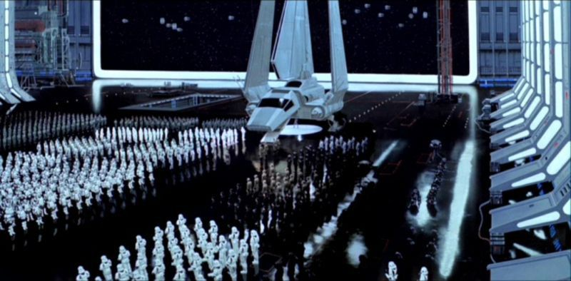DeathstarII hangar