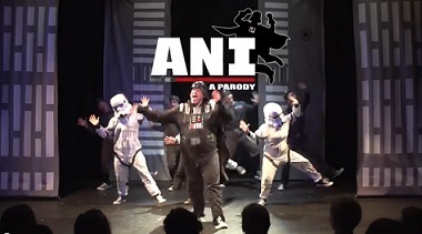 "Photo of Team StarKid's Star Wars Musical ""ANI: A Parody"" Reviewed"