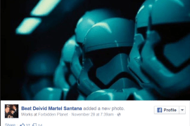 Stormtrooper Beat Devivid Martel Santana - Two Stormtroopers from the Star Wars: The Force Awakens Teaser?