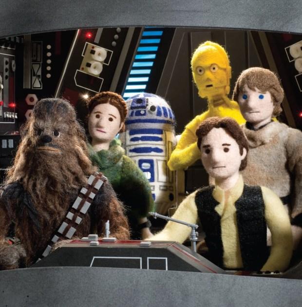 SW Epic Yarns_Return of the Jedi_Team © & TM Lucasfilm Ltd.