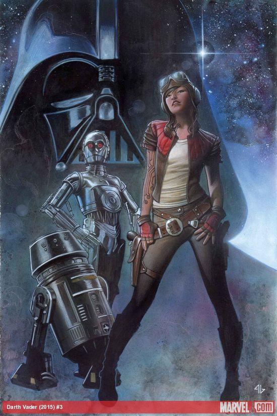 detail - Elaine Reviews Star Wars: Darth Vader #3