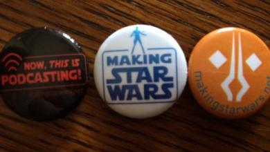 Photo of Star Wars Celebration Anaheim: Live Podcast, MakingStarWars Buttons and Fan Site Riches!
