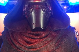 Kylo Up Close - Star Wars Celebration Anaheim: The Force Awakens Exhibit Video