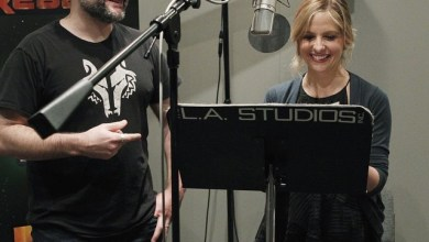 Photo of Sarah Michelle Gellar's Role in Star Wars Rebels Revealed