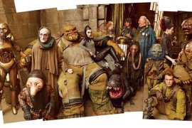 Maz Pirate Castle - Chewbacca and Unkar Plutt disagree in this Star Wars: The Force Awakens deleted scene