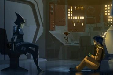 205 12 CRD0501 - Star Wars Rebels: Female Inquisitor Unmasked