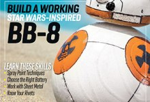 "Photo of BB-8 Featured in ""Make"" Magazine, Vol. 46"