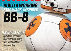 """Photo of BB-8 Featured in """"Make"""" Magazine, Vol. 46"""