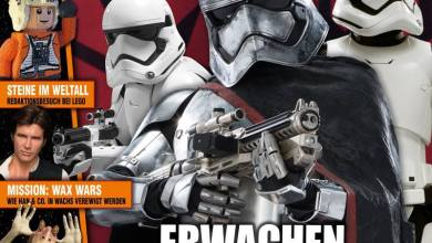 Photo of German Star Wars Magazine has rad new Captain Phasma cover!