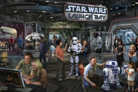 Launch Bay - One new shot from Star Wars: The Force Awakens from the Star Wars Launch Bay!