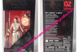 "TBS 2 - Star Wars The Force Awakens 6"" Black Series Wave 1 Found"