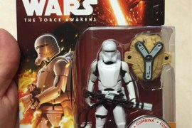 "offcial trooper - Star Wars: The Force Awakens Flametrooper 3.75"" Revealed"