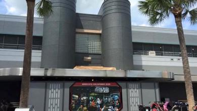 Photo of New Signage for Star Wars Launch Bay at Walt Disney World