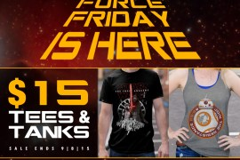ForceFriday 1000X1000 - Celebrate Force Friday at Fifth Sun Clothing!