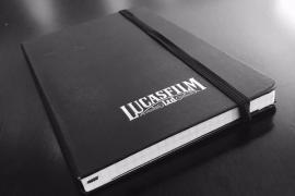 Notebook Colin - A photo of Trevorrow's Lucasfilm Star Wars: Episode IX notebook!