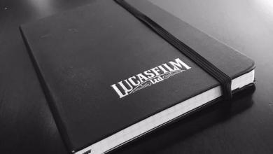 Photo of A photo of Trevorrow's Lucasfilm Star Wars: Episode IX notebook!