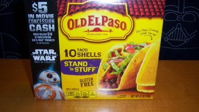 Photo of Old El Paso promotion gives $5 concession cash for our Star Wars: The Force Awakens screenings!