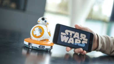 Photo of Sphero BB-8 App-Enabled Droid will now watch and react to Star Wars: The Force Awakens BR/DVD!