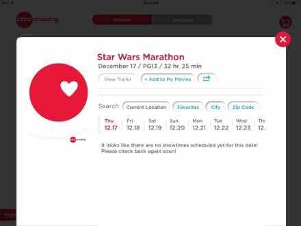 AMC Star Wars Marathon