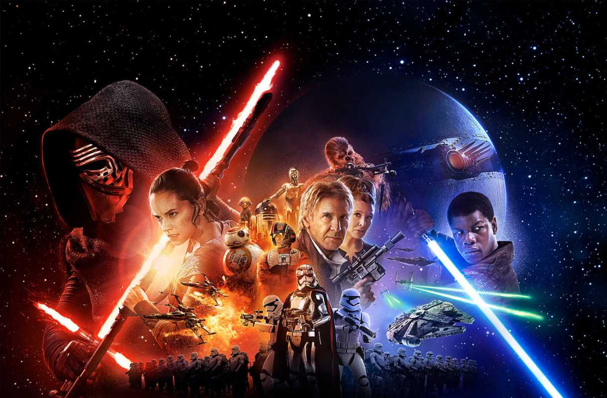 WIDE Star Wars: The Force Awakens POSTER