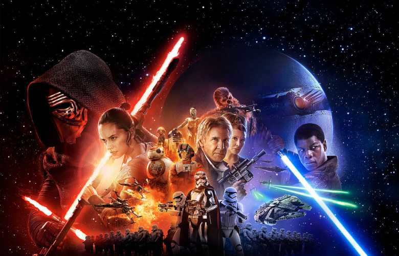 WIDE Star Wars The Force Awakens POSTER