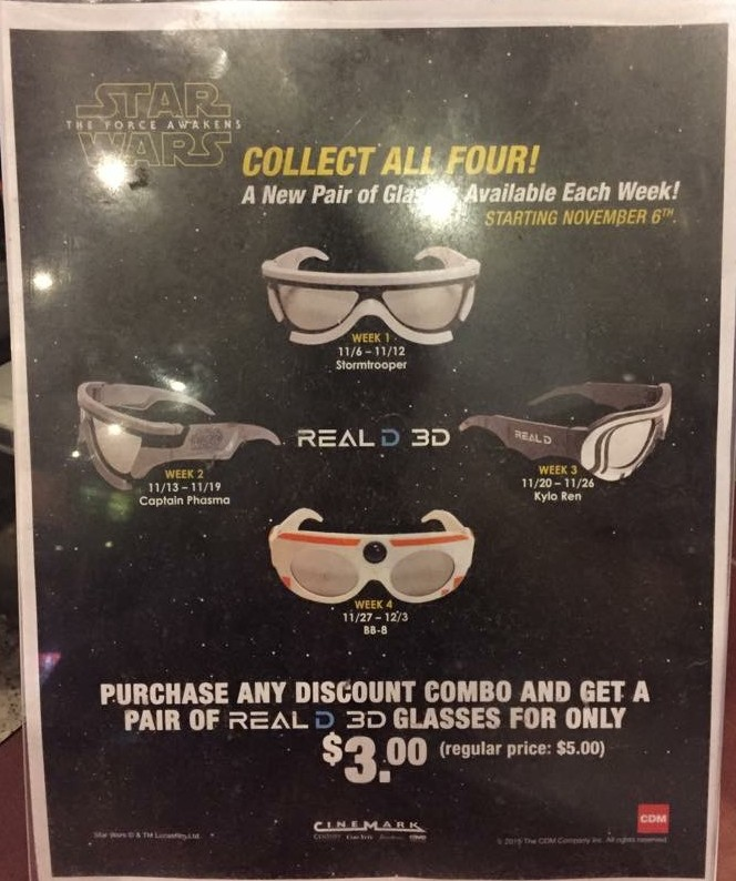3D Release Dates