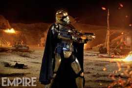 EMPIRE Phasma - New Star Wars: The Force Awakens Captain Phasma photo from Empire!