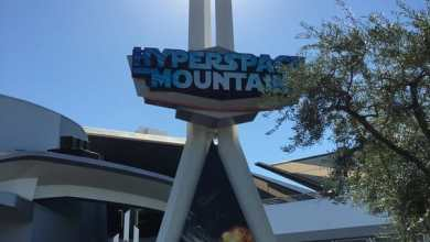 Photo of Season of the Force: Hyperspace Mountain's sign is up!