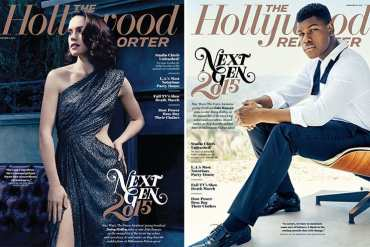 John and Daisy - Daisy Ridley and John Boyega Featured in Hollywood Reporter Magazine