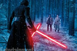 adam driver john boyega daisy ridley - Entertainment Weekly Releases A New Gallery of Star Wars: The Force Awakens Images!