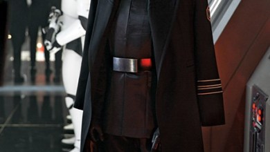 Photo of J.J. Abrams on Starkiller Base and General Hux in Star Wars: The Force Awakens