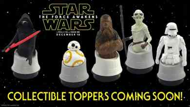 Photo of Star Wars: The Force Awakens Collectible Toppers From Regal!