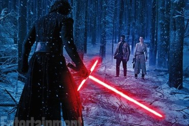 REY VS KYLO - A Lightsaber Duel From Star Wars: The Force Awakens Revealed By Harrison Ford!