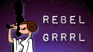 "Photo of Episode 36 MakingStarWars.net's ""Rebel Grrrl""!"