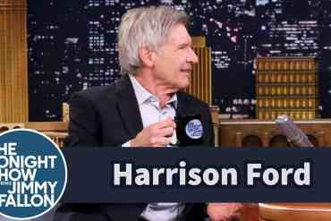 hilarious interview with harriso - Hilarious Interview WIth Harrison Ford About Star Wars: The Force Awakens On Jimmy Fallon!