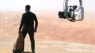Photo of Star Wars: The Force Awakens Featurette on filming in Abu Dhabi.