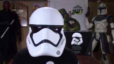 Photo of Star Wars: The Force Awakens First Order Stormtrooper Anovos Helmet Review By The Collectors Hutt!