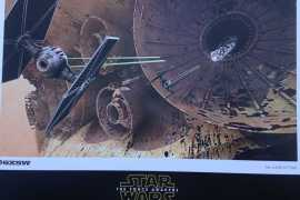 SXSW Star Wars The Force Awakens Poster - Star Wars: The Force Awakens SXSW poster!