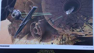 Photo of Star Wars: The Force Awakens SXSW poster!