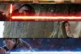 image 18 - Luke Skywalker featured on a banner promoting Star Wars: The Force Awakens on Blu-Ray!