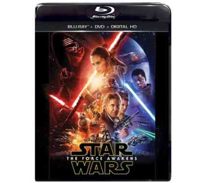 All of the retail exclusive Star Wars: The Force Awakens Blu-Rays up for Pre-Order