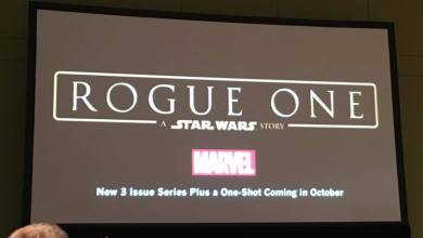 Photo of Rogue One: A Star Wars Story comic miniseries coming October 2016!