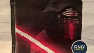 Photo of UPDATE: Best Buy exclusive Star Wars: The Force Awakens Blu-Ray Steelbook features Kylo Ren!