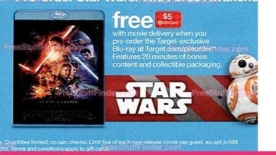 Photo of Star Wars: The Force Awakens Target exclusive Blu-ray to include 20 minutes of bonus content!