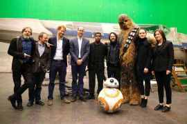 Star Wars sets at Pinewood studios - Another Familiar Ship Returning for Star Wars: Episode VIII!