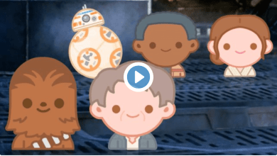 Photo of Video: Star Wars: The Force Awakens as told through Emoji!