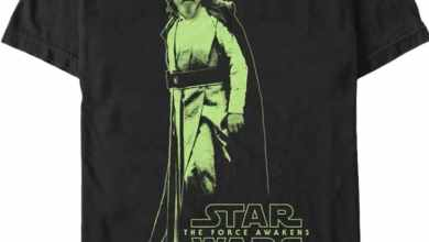 image 2 - Fifth Sun offering Star Wars: The Force Awakens Luke Skywalker T-Shirts!